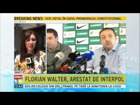 Florian Walter, arestat de INTERPOL în Emiratele Arabe Unite