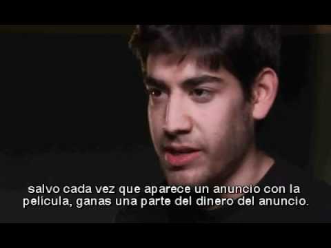 Aaron Swartz - On Peer To Peer, Digital Rights Management and Web 2 0 . Spanish subtitles