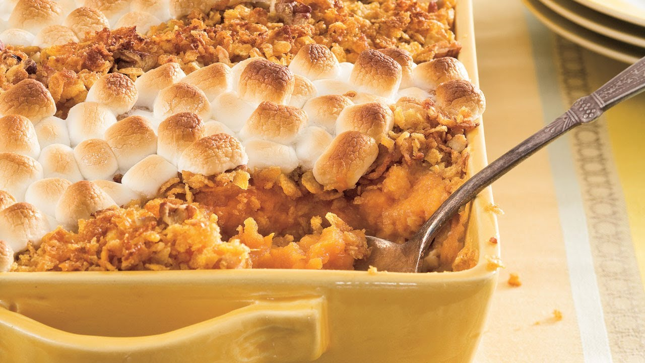 Thanksgiving Recipe Classic Sweet Potato Casserole Southern