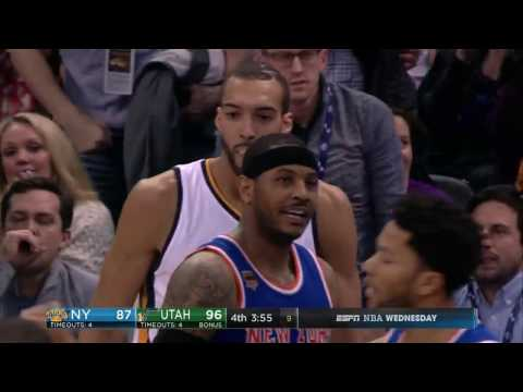 Rudy Gobert 35 points vs New York in 2017. The only 30 point game of his career.