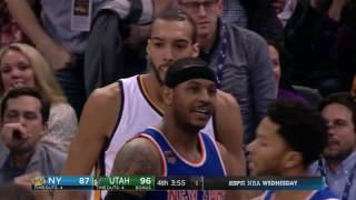 Rudy Gobert CAREER HIGH 35 Points in Utah! | March 22, 2017