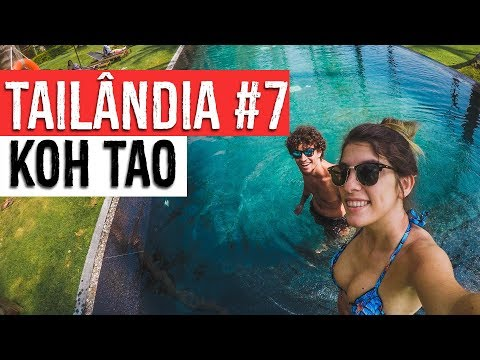 Tailândia #7 | Hotel Haadtien Beach | Imagens De Drone Koh Tao | Duas Passagens