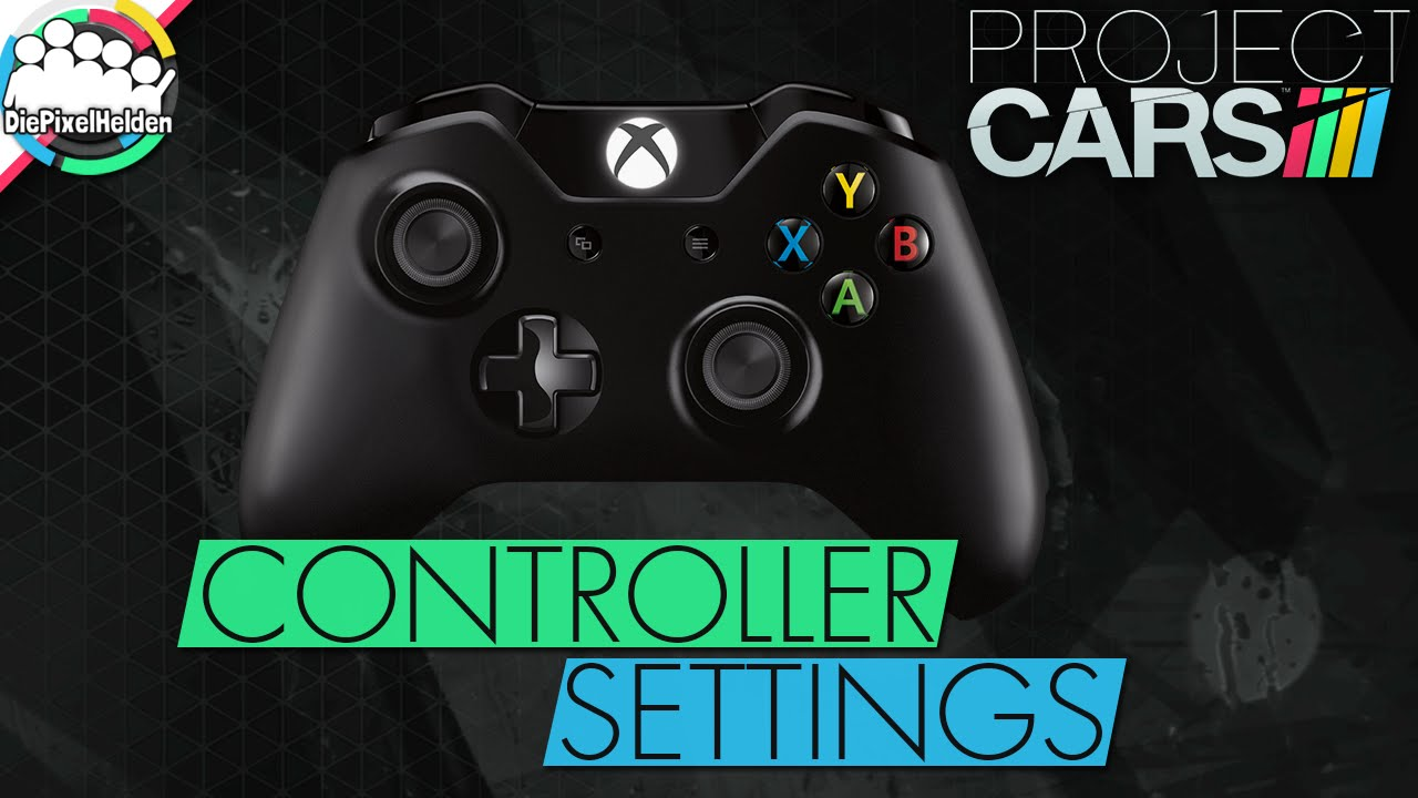 Project Cars  Xbox One Controller Settings