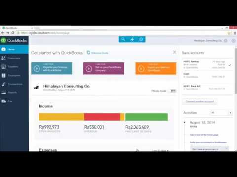 Create and track budget in QuickBooks