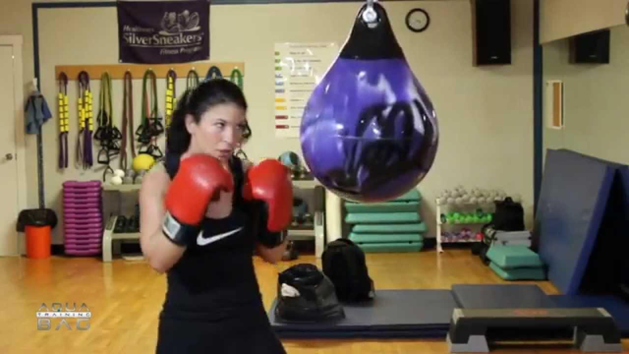 15 Inch Aqua Training Bag 75 Pound Boxing Bag