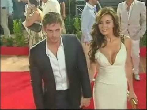 Elizabeth Gutierrez y William Levy en Alfombra Roja ...
