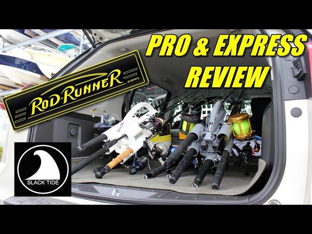 TOP Fishing Rod Carrier! ROD-RUNNER Pro & Express SlackTide Review (2019)