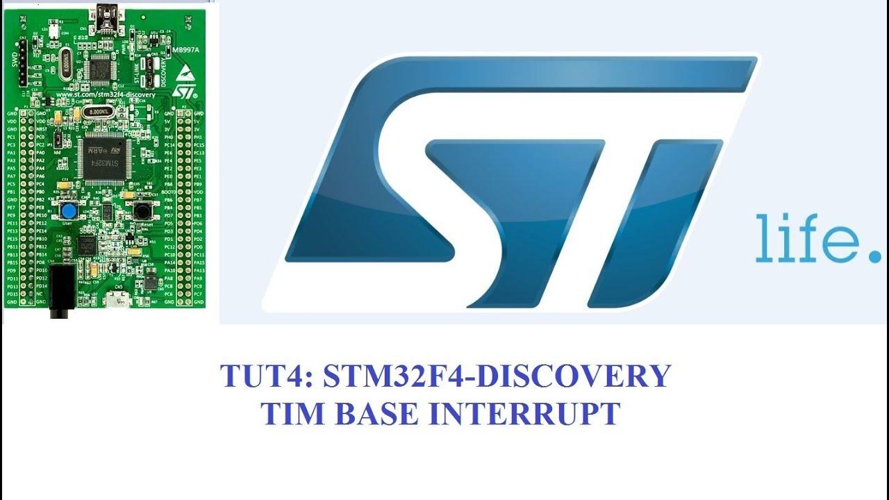 STM32F4 Timer with CubeMX- Time Base Interrupt