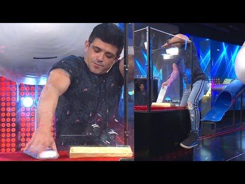 La insólita técnica de Federico Molinari para sacar el lingote