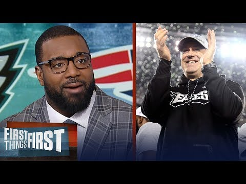 Chris Canty on Doug Pederson's success with the Philadelphia Eagles | FIRST THINGS FIRST