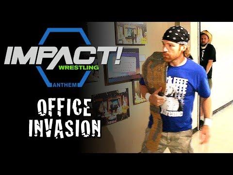 Impact Wrestling Office INVADED By Backyard Wrestlers