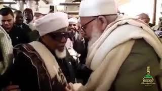 Shaykh Taha Rayyan al Maliki meeting with the late Shaykh Al-Habib 'Ali Al-Mashhur As-Shafi'i