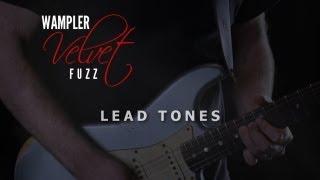 Wampler Velvet Fuzz - Lead Tones