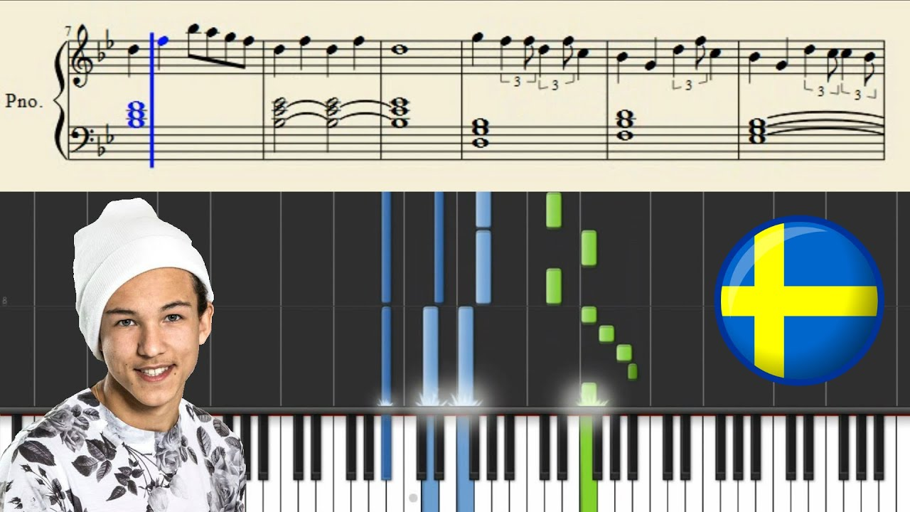 Frans - If I Were Sorry (SWEDEN) | Piano Tutorial - YouTube