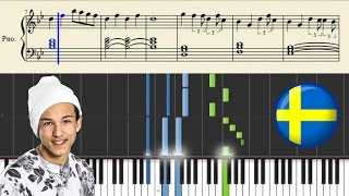 Frans - If I Were Sorry (SWEDEN) | Piano Tutorial