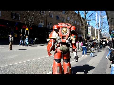Space Marine Cosplay April 15 2014