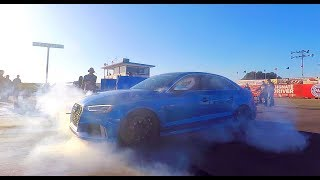DRAG RACING BIG TURBO AUDI RS3 | QUEST FOR 9's | WORLD'S FASTEST 8V RS3