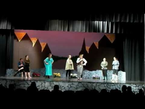 Taming of the shrew act 4 White Mountains regional high school