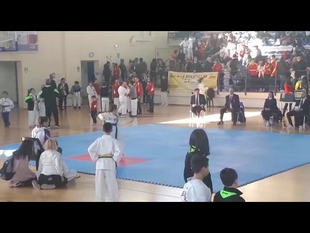 Maria Teresa 4° Taeguk finale