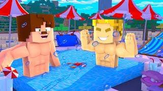 EVİMİ SU BASTI - JAKUZİ YAPIYORUZ #8 OKYANUSCRAFT - Minecraft