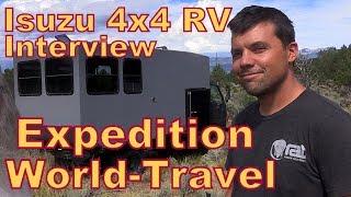 Isuzu 4X4 RV Interview