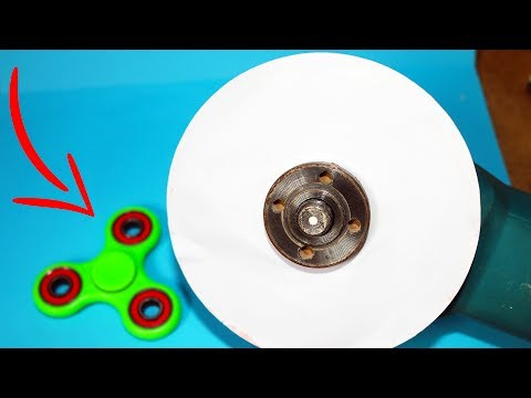 Thumbnail: EXPERIMENT Can You Cut FIDGET SPINNER With PAPER ?
