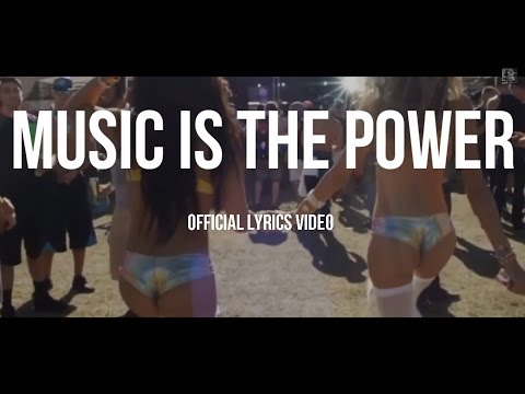Doctor Keos ft. Po$itive, Car6 & Francesca Cittadino - Music Is The Power - Official Lyrics Video