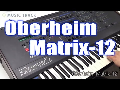 Oberheim Matrix12 Demo&Review [English Captions]