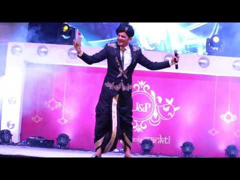 Host Girish Sharma Dancing Entry at an Indian Wedding in Gujarat