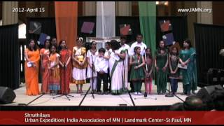 Shruthilaya-Song 4[India Association of MN]