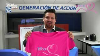 ¡Lucha contra el cáncer de mama!