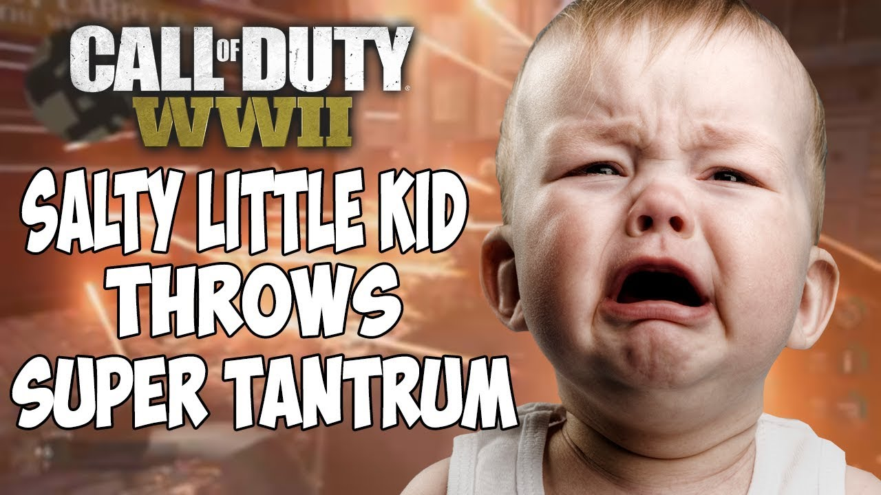 maxresdefault call of duty wwii salty little kid throws super tantrum (cod wwii