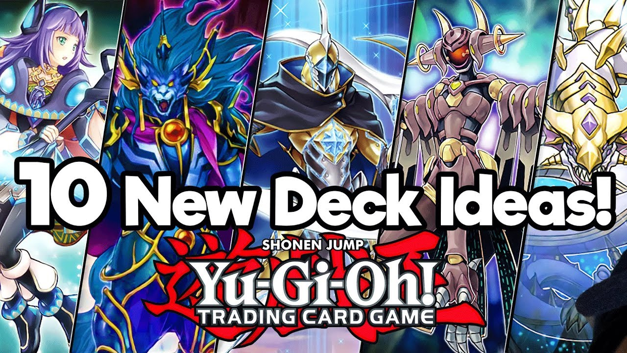 Top 10 New Yu Gi Oh Deck Ideas in 2018!   YouTube