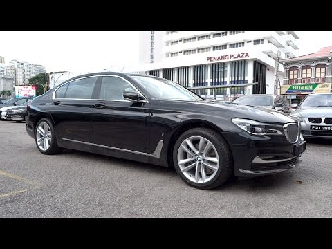 2017 BMW 740Le iPerformance xDrive Start-Up and Full Vehicle Tour