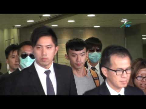 """2015.10.19 - """"Occupy Hong Kong"""" Seven Police Officers at court over the Dark-Corner lynching"""