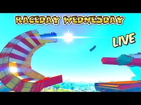 LIVE --- RACEDAY WEDNESDAY #110 --- Full Lobby Racing w/ GCCC Crew --- GTA 5 NEW CUSTOM Creations