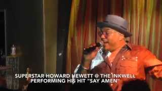 Howard Hewett LIVE @ The INKwell NYC Grown Folk Fridays Afterwork  6-19-2015