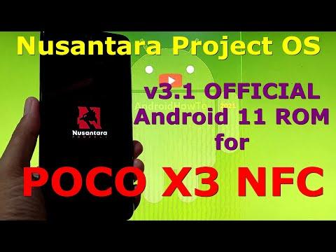 Nusantara Project OS v3.1 Official for Poco X3 NFC (Surya)