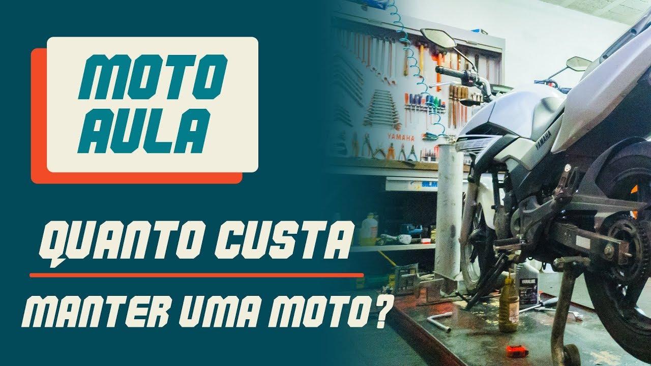 04753282a09 Moto Aula - Quanto custa manter uma moto  - YouTube