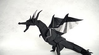 Origami Fiery Dragon (official Video Instruction By Kade Chan) 摺紙 噴火飛龍 官方教學短片