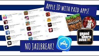 FREE! Apple ID with Minecraft and other paid apps! No Jailbreak