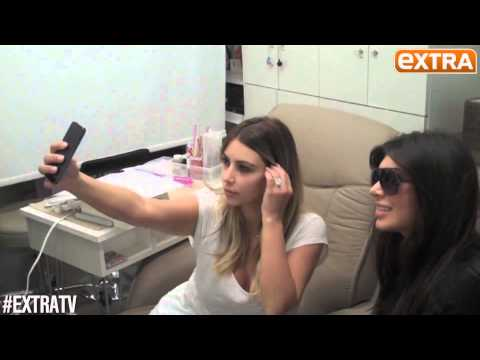 Kim Kardashian's Rules On How To Take The Perfect Selfie