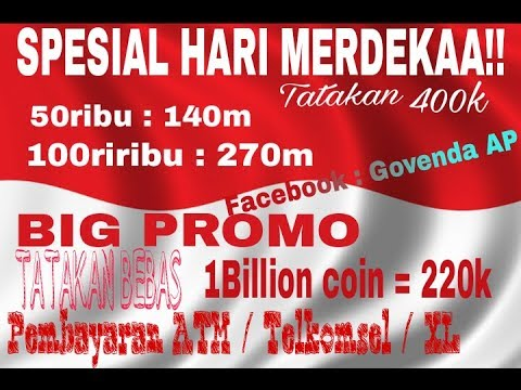 JUAL CHIP/COIN 8 BALL POOL [SPESIAL KEMERDEKAAN INDONESIA] ~8 Ball Pool~ #12