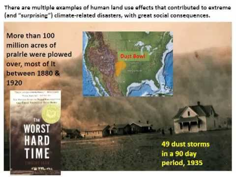 Dust Bowls and Fire Storms: Changing Vulnerability to Climate