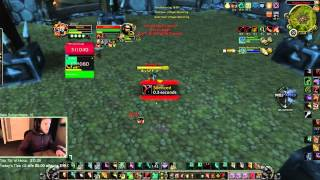 2500+ Windwalker 2v2, live at 1% and turn it around to double kill the enemy team.