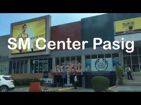 SM Center Pasig Mall Overview Walking Tour by HourPhilippines.com