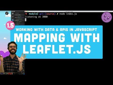 1.5 Mapping Geolocation With Leaflet.js - Working With Data And APIs In JavaScript