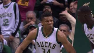 Toronto Raptors vs Milwaukee Bucks Full Game Highlights Game 3 April 22 2017 NBA Playoffs