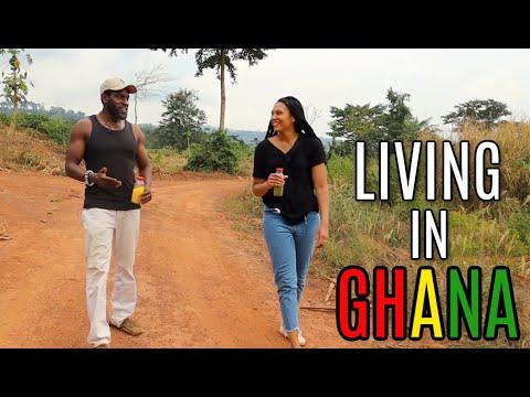 LIVING IN GHANA   LEFT THE UK NOW HAS A 16 ACRE ORGANIC FARM IN GHANA