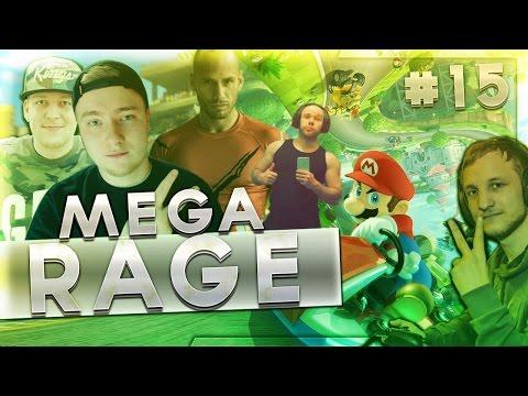 MEGA RAGE | Mario Kart 8 mit der Crew